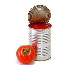 Tomates concassées (boite)