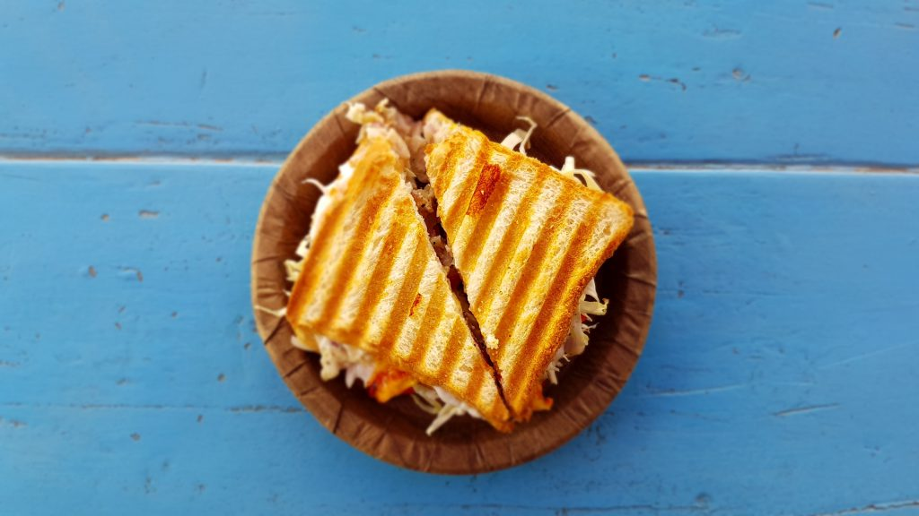 feu de camp grilled cheese